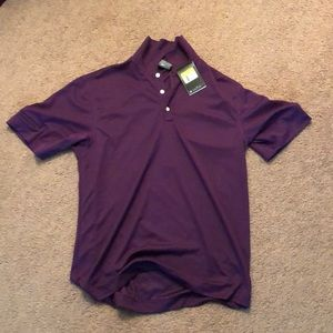Nike Purple Golf Shirt